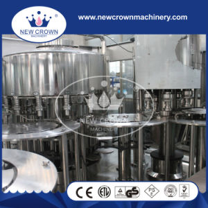 PLC Control Monoblock Water Filling Machine for 3-5L Pet Bottle pictures & photos