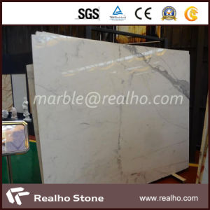 Top Polished Slab White Marble Stone for Wall Decoration
