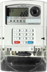 Single Phase GPRS Prepaid/Prepayment Keypad Meter pictures & photos
