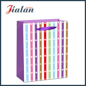 Glossy Laminated Art Paper Fresh Daily Shopping Gift Paper Bag pictures & photos
