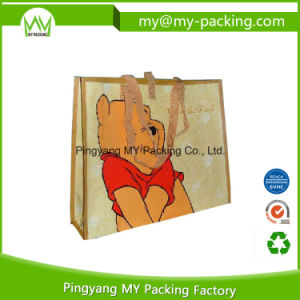 Handle Carrier Plastic Shopping Bag pictures & photos