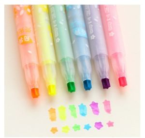 Stationery Lovely Highlighter Maker Fluorescent Pen pictures & photos