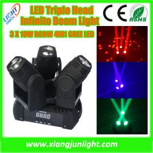 Mini Triple Head LED Beam Moving Head Spot Light pictures & photos