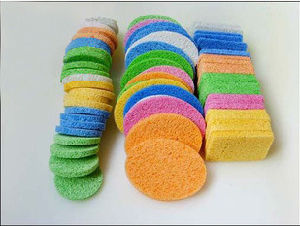 Coloful Cellulose Sponge for Bawl Washing pictures & photos