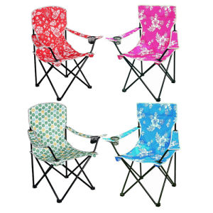 Colorful Printing Cheap Metal Folding Chairs with Arms (SP-111) pictures & photos
