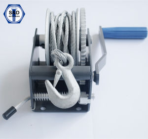 700lbs Hand Winch Mini Hand Winch Powder Coating pictures & photos