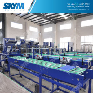 Small Manual Shrink PE Plastic Film Wrapping Machine pictures & photos