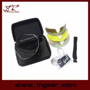 Hot Sell C2 Airsoft Shooting Glasses Tacitcal UV Lens pictures & photos