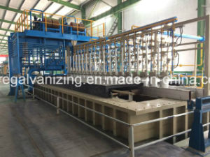 Hot DIP Galvanizing Equipment with Nitrogen Wiping pictures & photos