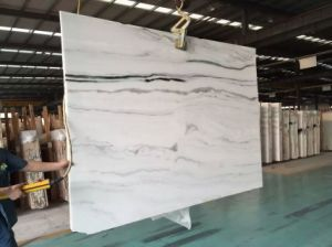 White Marble Cut-to-Size for Floor Stair Wall Countertop pictures & photos