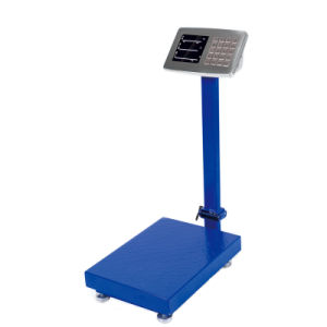 Digital Stainless Steel Indicator Platform Balance with Iron Checked Pan (DH~C7E) pictures & photos