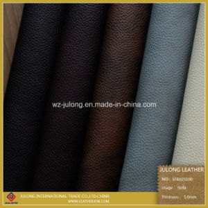 Leechee Semi-PU for Sofa (SFB025) pictures & photos