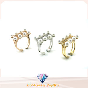 2015 Newest Design Fashion Jewelry 925 Silver Pearl Ring (R10383) pictures & photos