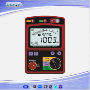 portable Digital High Volatge Insulation Resistance Meter pictures & photos