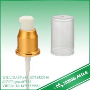 24/410 New Design Alumina Golden Cream Pump with Cap pictures & photos
