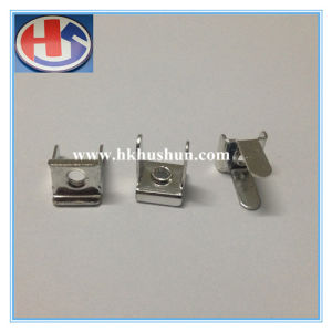 Professional Brass Hot Stamping Part, Brass Stamping Connectors (HS-MT-0029) pictures & photos