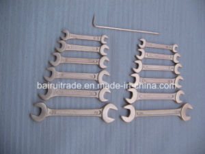 7mm Mirror Surfaced Double Open End Wrench for China pictures & photos