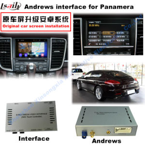 HD Multimedia Android Interface Support WiFi/Mirrorlink GPS Navigation Box for 10-15 Porsche-Panamera pictures & photos