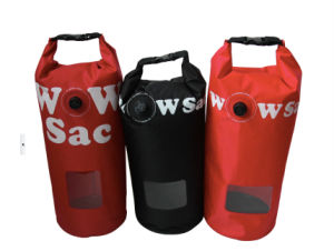 15L Colorful Waterproof Mountaineer Dry Bag with Window (MC4030) pictures & photos