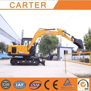 CT85-8A (0.34M3) Diesel-Powered Hydraulic Crawler Excavator pictures & photos