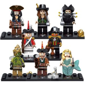 High Quality ABS Mini Blocs Mini Figures with 8 Styles pictures & photos