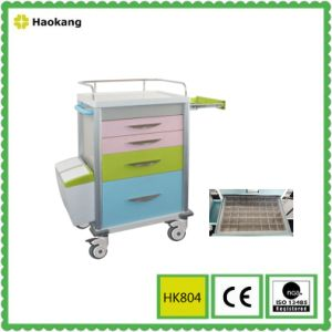Hospital Furniture for Medical Treatment Trolley (HK805A) pictures & photos