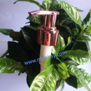 Plastic Purple Lotion Pump for Shampoo/Bath Cream Bottles pictures & photos