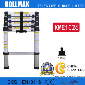 Magic Aluminum Telescopic Single Ladder with En131 CE GS pictures & photos