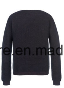 Lady′s Pure Cashmere Knitwear with Metallic Sewed pictures & photos