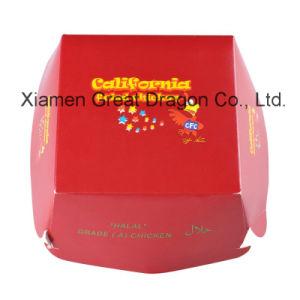 13cmx4cm Set of 6 Prefolded Boxes Burger Boxes (GDBB005) pictures & photos