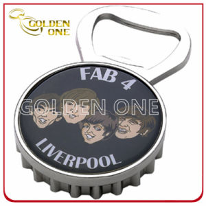Promotion Gift Custom Engraving Chrome Plated Metal Beer Bottle Opener pictures & photos