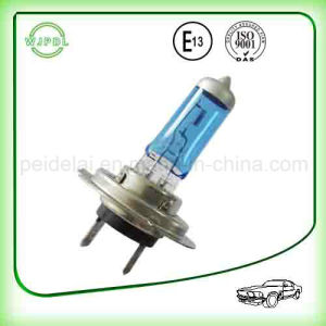 Focusing 24V Clear Quartz H7 Auto Halogen Head Lamp pictures & photos