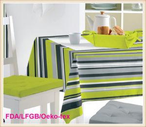 PVC Opaque Transparent Tablecloth (TT0203) pictures & photos