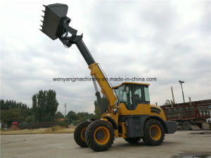 Agricultural Machinery Hydraulic Joystick 3ton Telescopic Wheel Loader pictures & photos