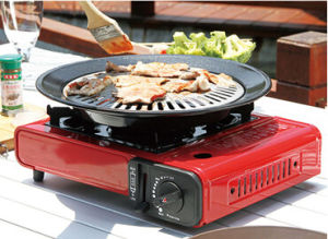 Fashion Hot Sold Square Camping Butane Portable Gas Stove
