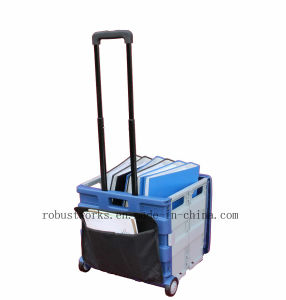 Plastic Folding Cart with Pouch and Cover (FC406LP) pictures & photos
