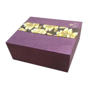Hot Sale Purple Cardboard Handmade Gift Box