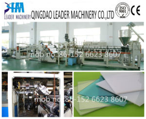 UV Coating Polycarbonate Solid Sheet Extrusion Machine pictures & photos