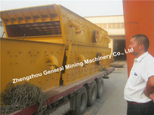 China Factory Cement Vibrating Screen Sieve Machine High Quality pictures & photos