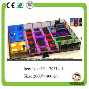 Double Trampoline, Low Price and Funny Trampoline (TY-170514-1) pictures & photos