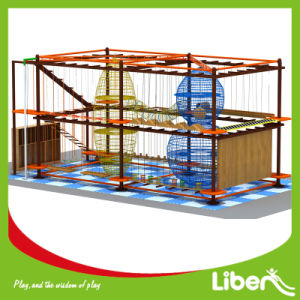 Kids Obstacle Course Shopping Center Adventure Indoor Rope Course Playground pictures & photos