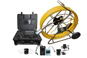 Self Level Waterproof Chimney Inspection Camera with Meter Counter pictures & photos