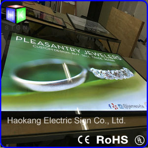 LED Aluminum Picture Frame Advertising Light Box Used on Shopping All Advertising pictures & photos