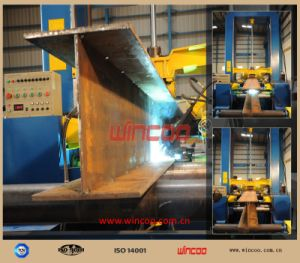 Steel Fabrication Assembly Machine/ Steel Fabrication Assemble Station/ Fitting-up Station/H Steel Fabrication Fitting-up Machine pictures & photos