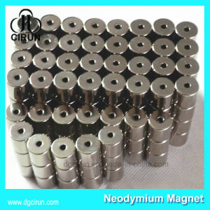 Customized Permanent Neodymium Cylinder Motor Magnet pictures & photos