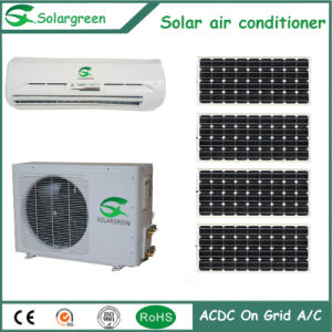 Environment Protection and Energy-Saving 9000BTU Acdc Hybrid Air Conditioner pictures & photos