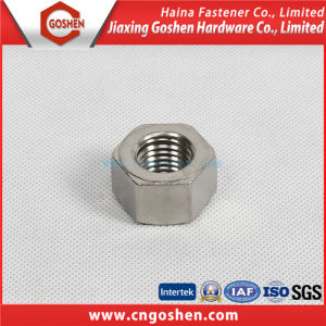 Stainless Steel Hex Nuts / Ss304 Ss316 Heavy Hex Nut pictures & photos