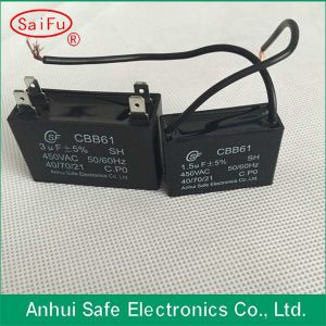 1.5UF 450V AC Motor Run Capacitor Cbb61 pictures & photos