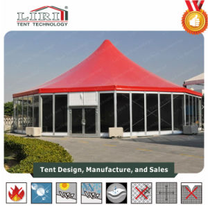 Aluminum Octagon Wedding Marquee Tent with High Peak for Outdoor Events pictures & photos
