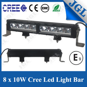 10W Super Bright Driving Beam LED Light Bar 80W pictures & photos